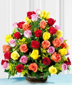 unas flores para mi esposa bogota