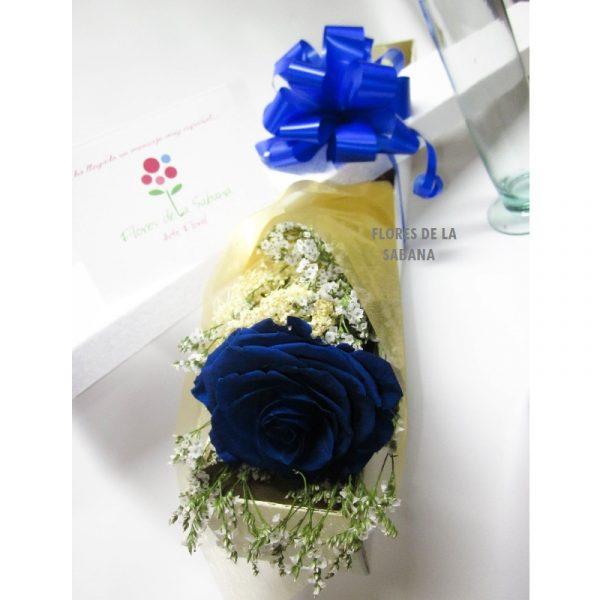 comprar rosas azules bogota