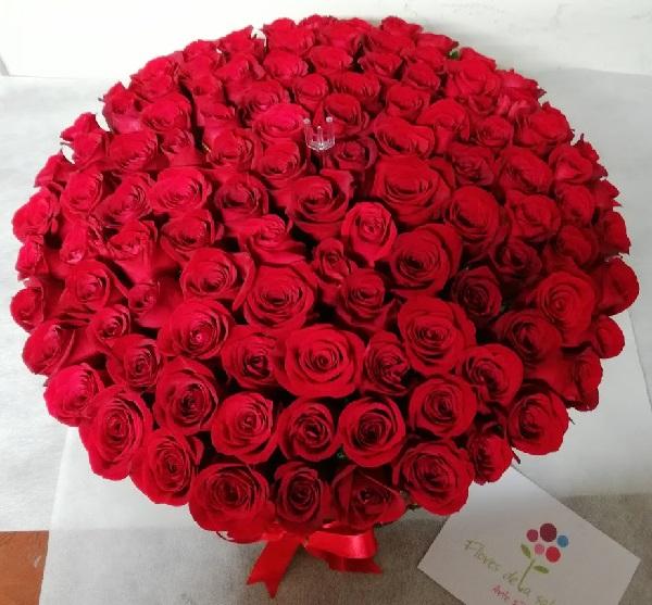 100 rosas bogota a domicilio