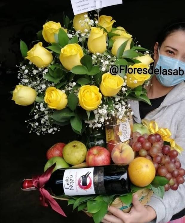 flores con frutas bogota domicilio